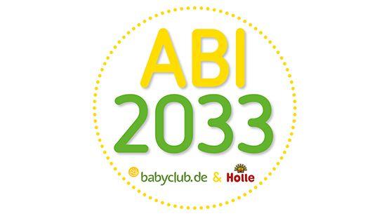 Abi 2033 Aufkleber