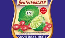 Bio Fruchtcocktail Cranberry-Limette