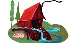 Kinderlied Es klappert die Mühle