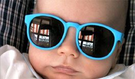 Kinder und Baby Sonnenbrille