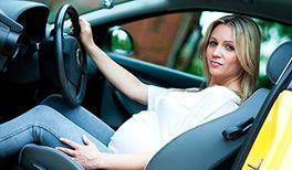 schwanger Autofahren
