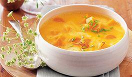 Kürbis Karotten Suppe
