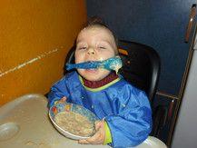 beim essen