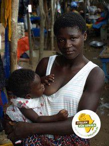 #StillenfürAfrika - damit Stillen in Afrika wieder die Regel wird!<br /> Foto von Nadine Brömmelmeier