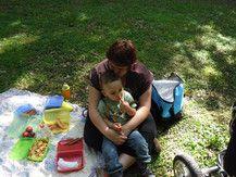 beim Kindergartenausflug