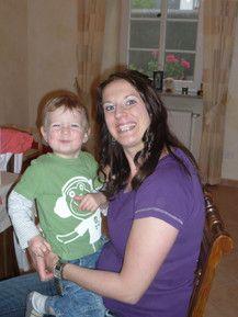 Mama und Tim