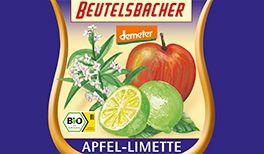 Demeter Fruchtsaft Apfel-Limette