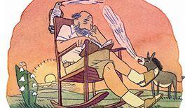 Kinderlied Der Kuckuck und der Esel