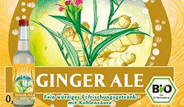 isis Bio Ginger Ale