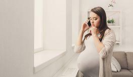 Hilfetelefon für Schwangere in Not