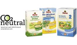CO2-neutrale Säuglingsmilch