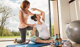Krombacher Schwangerschaftsgymnastik