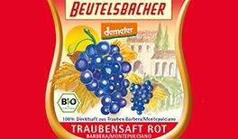Traubensaft rot von Beutelsbacher
