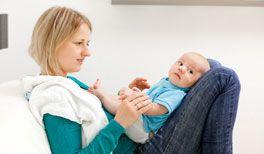 Verstopfung beim Baby
