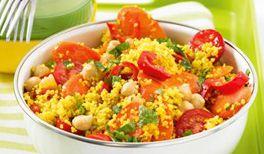 Warmer Couscous-Salat