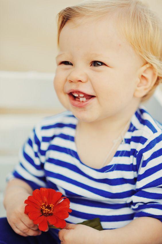 Babys erster Zahn