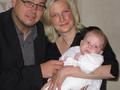 Taya Leanas Taufe am 07. Mai 2011 (4 Monate)