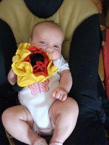 Gerne verschenke ich auch Blumen zur WM