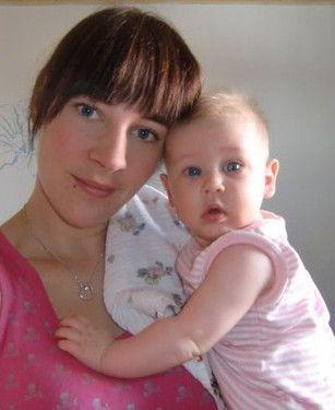 Emilia mit Mama