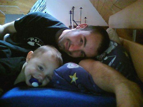 Papa und Oskar