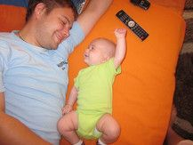 Maxi und sein Papa