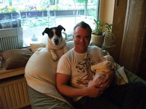 Papa, Muckelmaus und Mylo