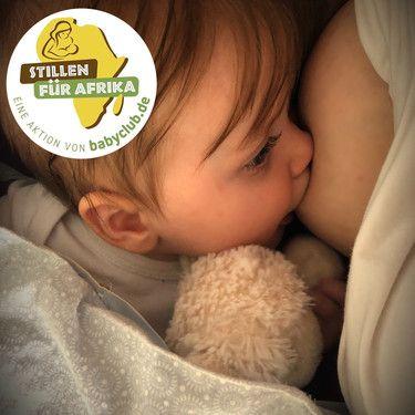 Es ist wunderschön, dass ich auch meine zweite Tochter stillen kann. Von Anfang an gibt uns dies eine besondere Bindung und es ist ein schönes Gefühl meiner Kleinen mit der Muttermilch das Beste geben zu können.