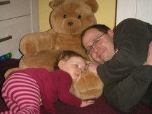 Jule und ihr Papa