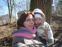 Julien mit Mama