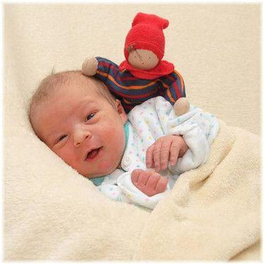 Mein Baby Leon gerade mal 2 Tage alt