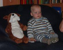 Sören und sein Spielkamerad