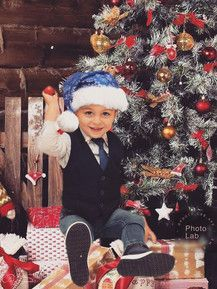Cedric in voller Vorfreude aufs Weihnachtsfest