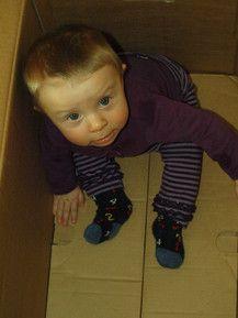 Lena in der Kiste :-)
