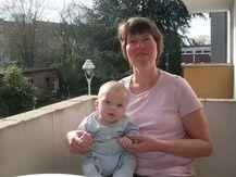 Mama mit Baby Leon