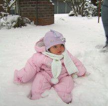 Süßer Schneehase