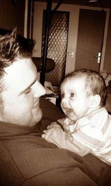 Papi makes me smile =)