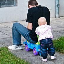 Mia und Papa