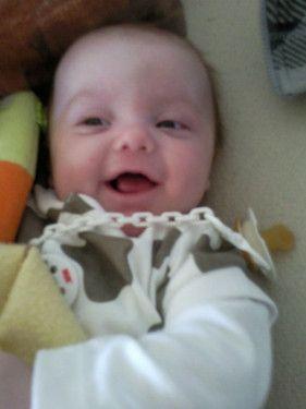 Mein Sonnenschein Louis 4 Monate ist er jetzt .
