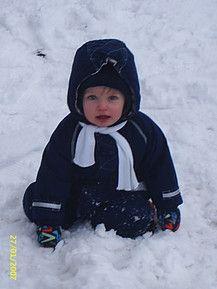 Torben im Schnee