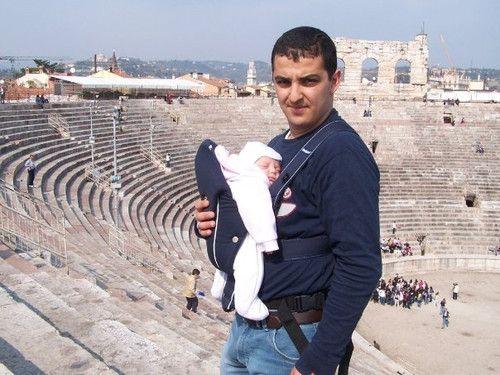 Arena in Verona, Ostern 2005