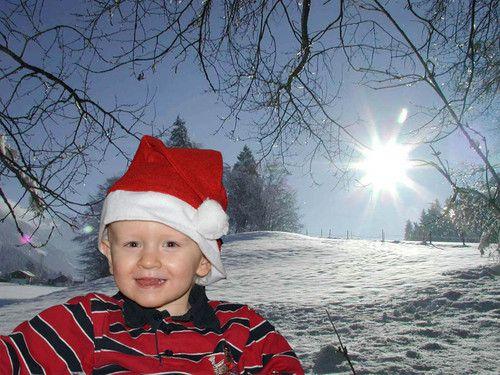 Unser kleiner Nikolaus, let it snow!