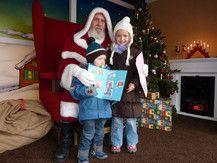Beim Weihnachtsmann auf dem Dortmunder Weihnachtsmarkt
