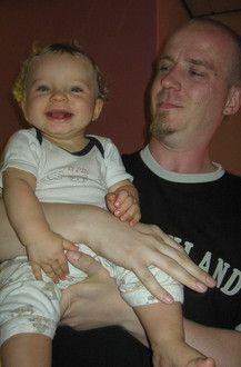 Tyler und Papa