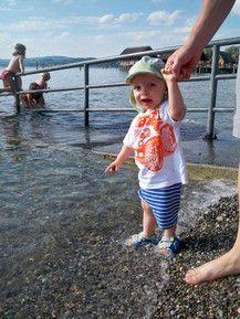 Hui ist der Bodensee kalt!!!