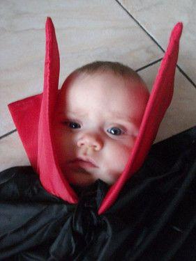 Als Dracula für Halloween