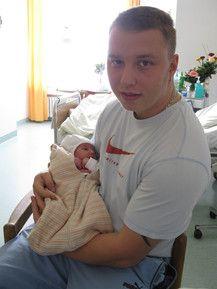 Papa mit seiner kleinen Prinzessin!!!!