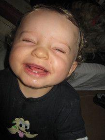 Meine ersten Zähnchen