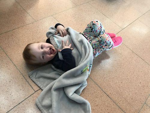 Wenn man sogar am Flughafen entspannen kann