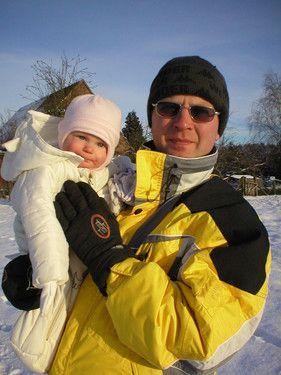 Lara und ihr Papa.....