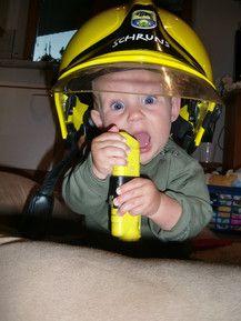 Ich will Feuerwehrmann werden!